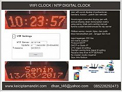 digital clock ntp